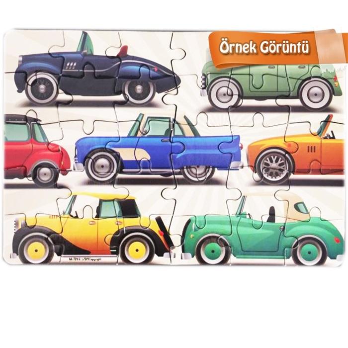 Mini Giant Puzzle Lüks Arabalar