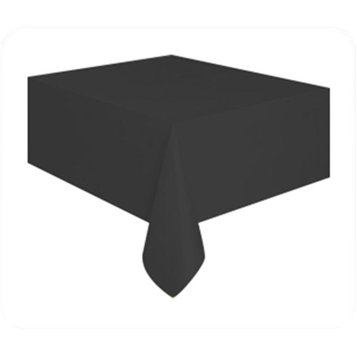 Siyah Plastik Masa Örtüsü