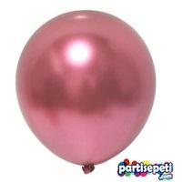 Krom Balon Metalik Pembe