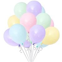 Makaron Pastel Soft Balon Karışık Renkli 100 Adet