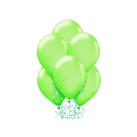 Makaron Pastel Soft Balon Yeşil Renkli 100 Adet