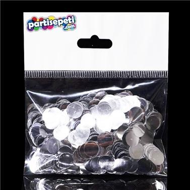 Gümüş Metalik Balon Konfetisi