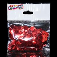 Kırmızı Metalik Balon Konfetisi