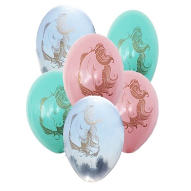 Unicorn Temalı Latex Balon