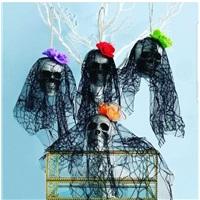 Cadılar Bayramı Halloween Dekor Kuru Kafa Süs