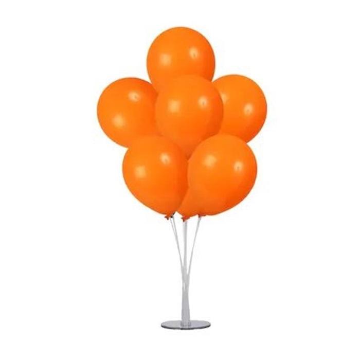 Halloween Cadılar Bayramı Ayaklı Balon Standı Turuncu
