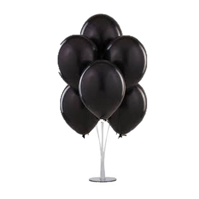 Halloween Cadılar Bayramı Ayaklı Balon Standı Siyah