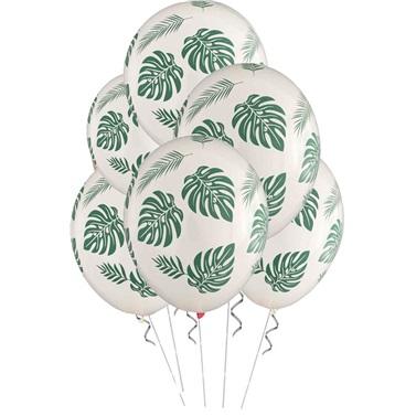 Yaprak Baskılı Balon