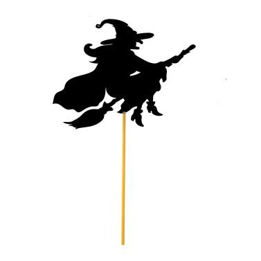 Halloween Konuşma Balonu Cadı