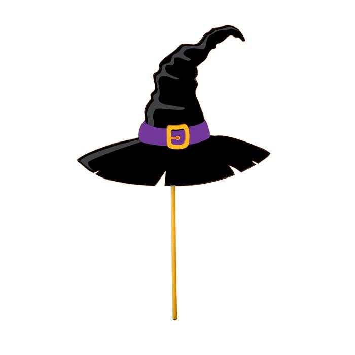 Halloween Konuşma Balonu Cadı Şapka