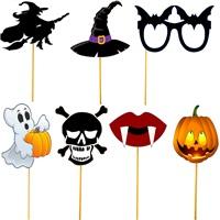 Cadılar Bayramı Halloween Konuşma Balonu Seti