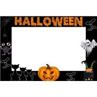 Kişiye Özel Halloween Çerçeve