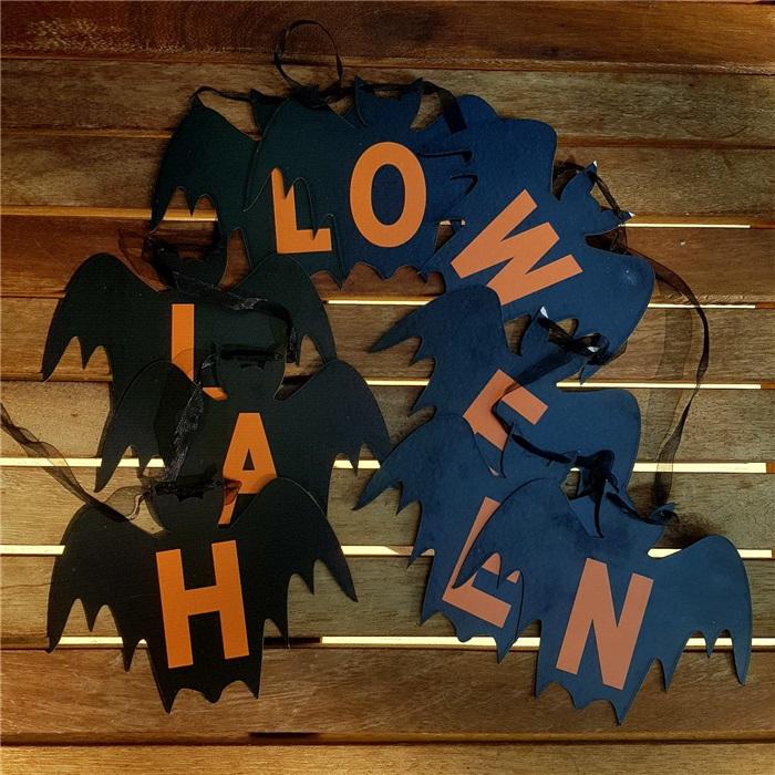 Halloween Cadılar Bayramı Yarasa Halloween Yazı