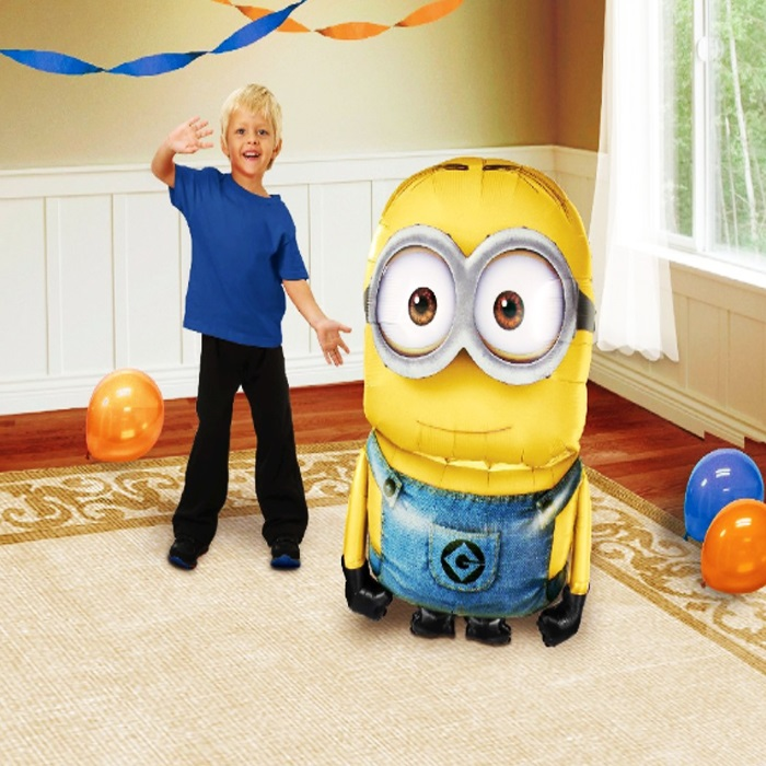 Minion Rush Airwalkers Folyo Balon