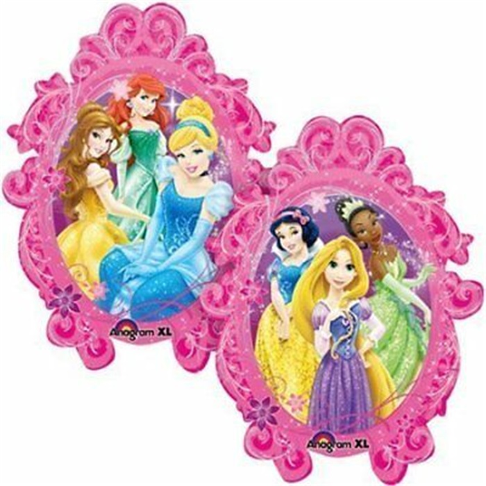 Prensesler Temalı Folyo Balon