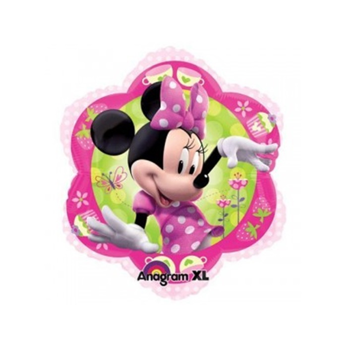 Minnie Mouse Şeffaf Folyo Balon
