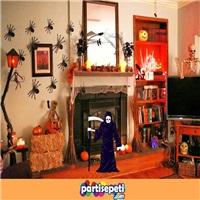 Cadılar Bayramı Dekorasyon Azrail Ayaklı Pano