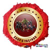 Avengers Kişiye Özel Pinyata