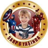 Avengers Kişiye Özel Sticker