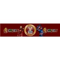 Avengers Kişiye Özel Su Şişe Bandı