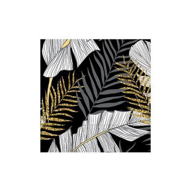 Altın Yapraklı Simli Peçete