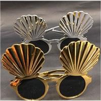 Gümüş Deniz Kabuğu Parti Gözlük