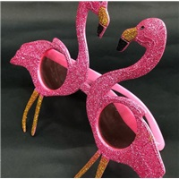 Flamingo Fuşya Renkli Parti Gözlüğü