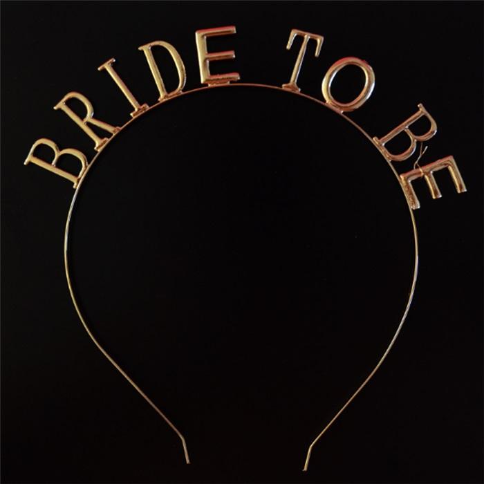 Bride To Be Rose Renkli Taç