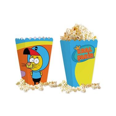 Kral Şakir Mısır Popcorn Kutusu
