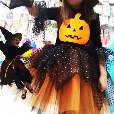 Cadılar Bayramı Balkabaklı Kostüm Çocuk