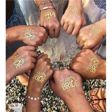 Bride Team Çift Oklu Dövme