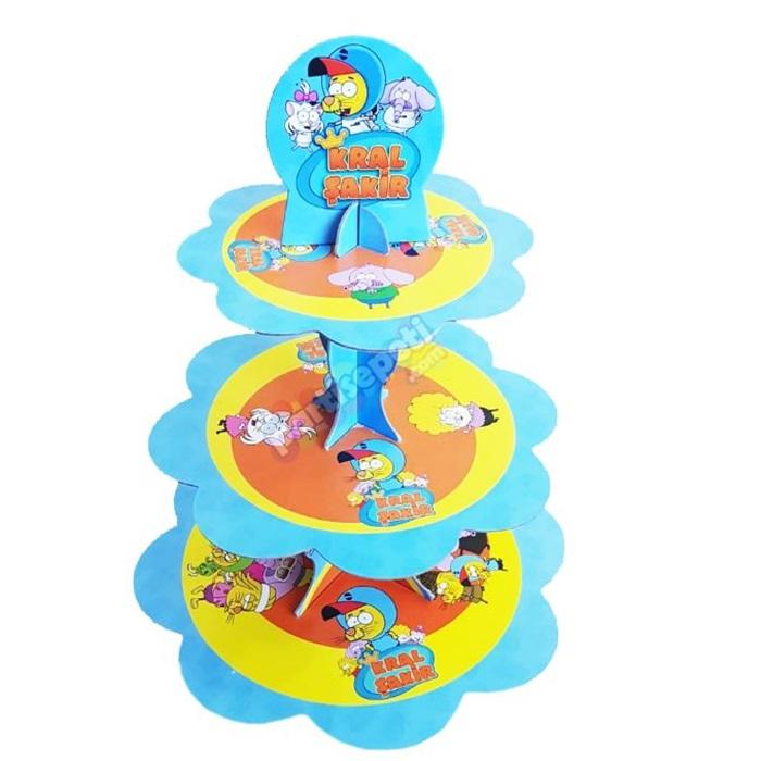 Kral Şakir Cupcake Kek Standı