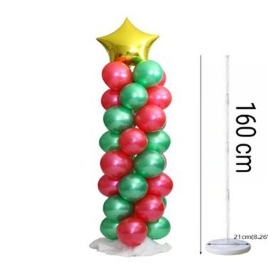 Yılbaşı Balon Süsleme Standı Seti 160 Cm