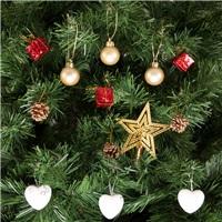 Yılbaşı Ağacı Kalpli Süsleme Seti