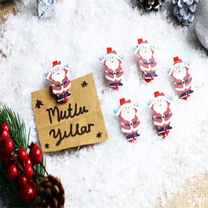 Yılbaşı Noel Baba Mandal