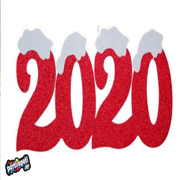 Yeni Yıl 2020 Köpük Asma Süs