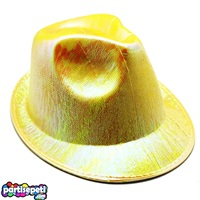 Helogramlı Sarı Parti Şapka