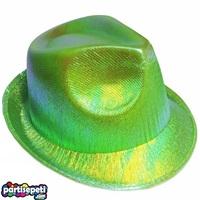 Helogramlı Yeşil Parti Şapka