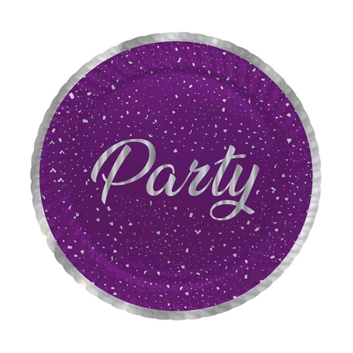 Mor Party Karton Tabak