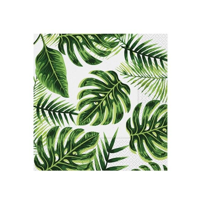 Yeşil Yapraklı Peçete