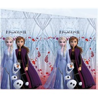 Frozen 2 Plastik Masa Örtüsü