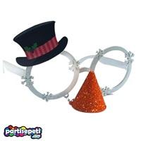 Yılbaşı Parti Gözlüğü Şapka ve Burunlu