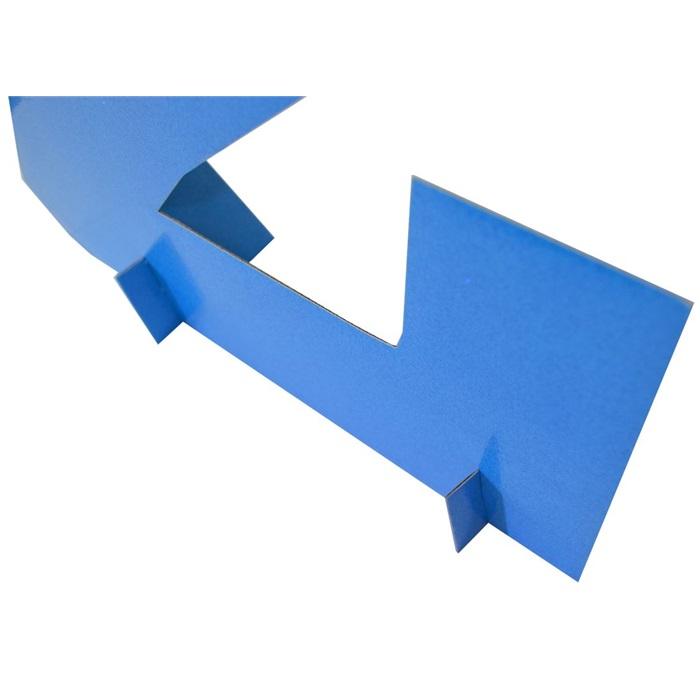 Mavi Simli Ayaklı Rakam Pano