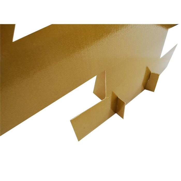 Gold Simli Ayaklı Rakam Pano