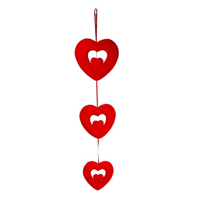 Kalp Köpük Sarkıt Süs