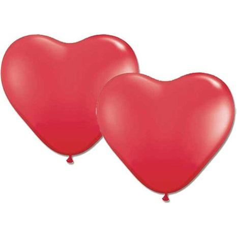 Kalp Balon 10 Adet