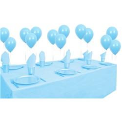 Açık Mavi Doğum Günü Parti Seti