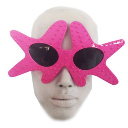Deniz Yıldızı Pembe Parti Gözlük