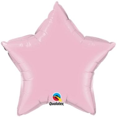 Yıldız Pembe Folyo Balon