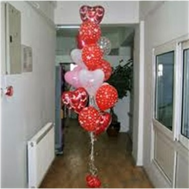 Uçan Balon Demeti Kalp